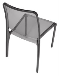Abdabs Furniture - Clarity Translucent Chair (Set of 4)